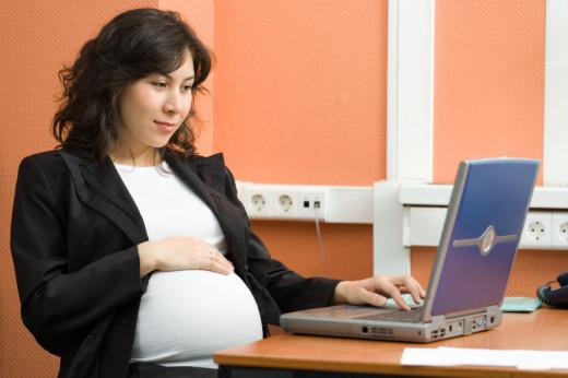 Mujeres autónomas embarazadas