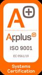 Certificado Applus ISO 9001